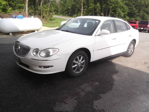 2009 Buick LaCrosse for sale at Clucker's Auto in Westby WI