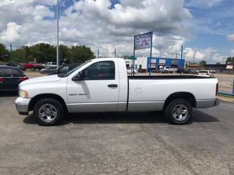 2005 Dodge Ram Pickup 1500 for sale at Superior Used Cars LLC in Claremore OK