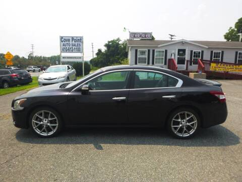 2010 Nissan Maxima for sale at Cove Point Auto Sales in Joppa MD