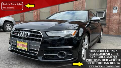 2016 Audi S6 for sale at Rocky's Auto Sales in Worcester MA