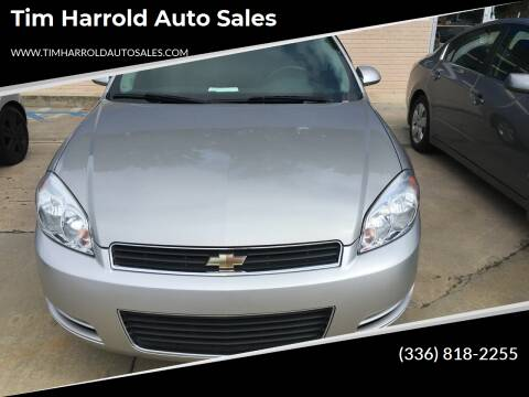 2007 Chevrolet Impala for sale at Tim Harrold Auto Sales in Wilkesboro NC