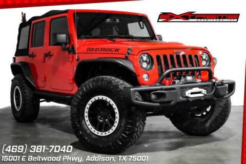 2016 Jeep Wrangler Unlimited for sale at EXTREME SPORTCARS INC in Carrollton TX