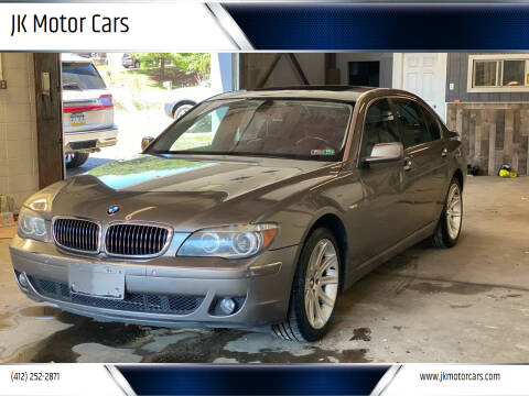 2006 BMW 7 Series for sale at JK Motor Cars in Pittsburgh PA