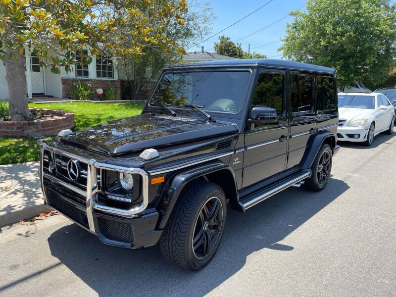 2018 Mercedes-Benz G-Class for sale at PACIFIC AUTOMOBILE in Costa Mesa CA