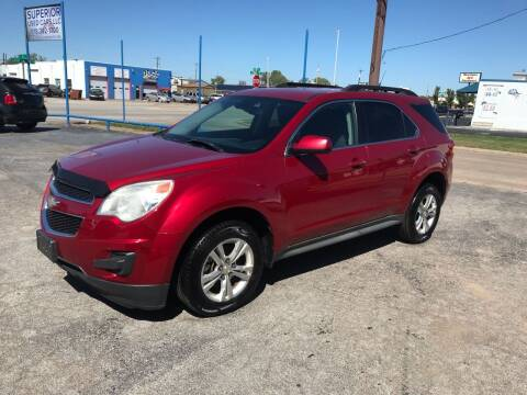 2012 Chevrolet Equinox for sale at Superior Used Cars LLC in Claremore OK