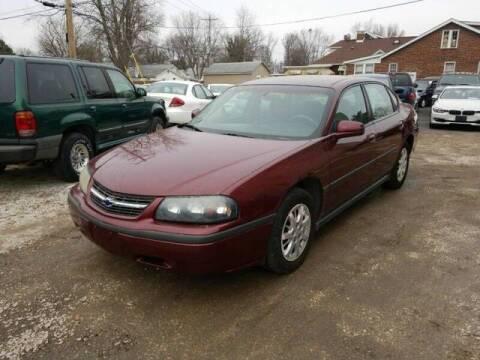 2002 Chevrolet Impala for sale at JC Auto Sales - Suburban Motors in Belleville IL