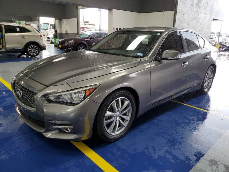 2015 Infiniti Q50 for sale at Lion Auto Finance in Houston TX