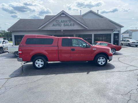 2004 Ford F-150 for sale at Clarks Auto Sales in Middletown OH
