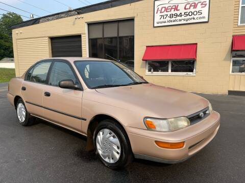 1994 Toyota Corolla for sale at I-Deal Cars LLC in York PA
