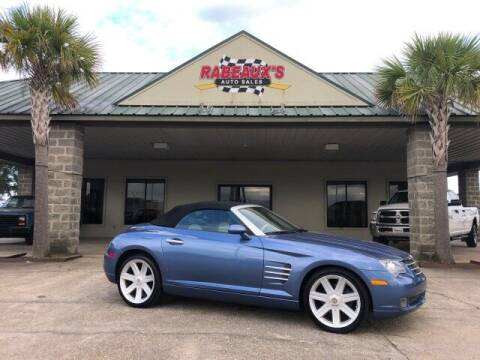 2006 Chrysler Crossfire for sale at Rabeaux's Auto Sales in Lafayette LA