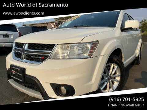 2013 Dodge Journey for sale at Auto World of Sacramento Stockton Blvd in Sacramento CA