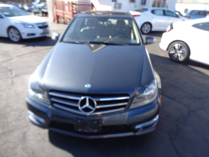 2014 Mercedes-Benz C-Class for sale at MAIN STREET MOTORS in Norristown PA