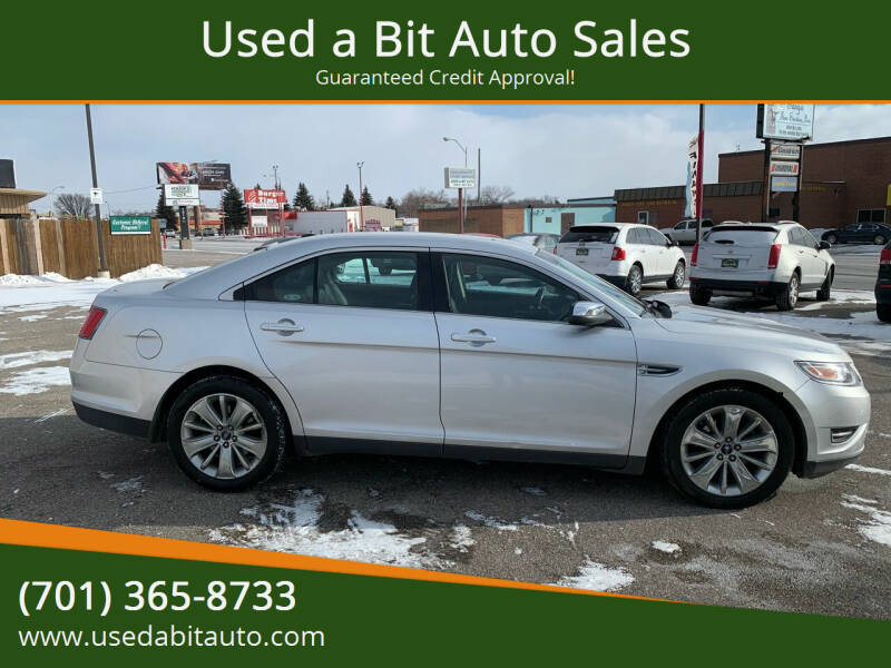 2012 Ford Taurus for sale at Used a Bit Auto Sales in Fargo ND