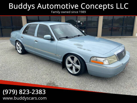 2003 Mercury Grand Marquis for sale at Buddys Automotive Concepts LLC in Bryan TX
