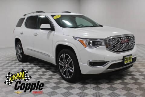 2018 GMC Acadia for sale at Copple Chevrolet GMC Inc in Louisville NE
