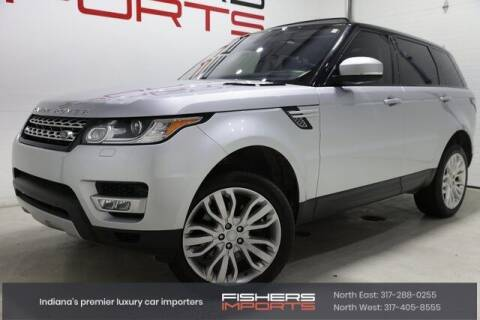 2016 Land Rover Range Rover Sport for sale at Fishers Imports in Fishers IN