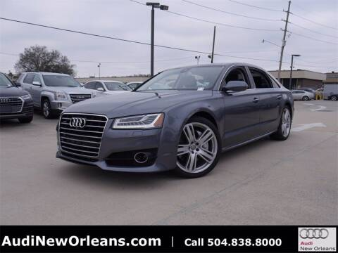 2016 Audi A8 L for sale at Metairie Preowned Superstore in Metairie LA