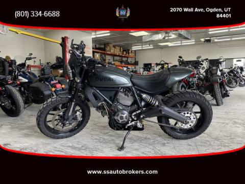 2016 Ducati Scrambler Classic for sale at S S Auto Brokers in Ogden UT