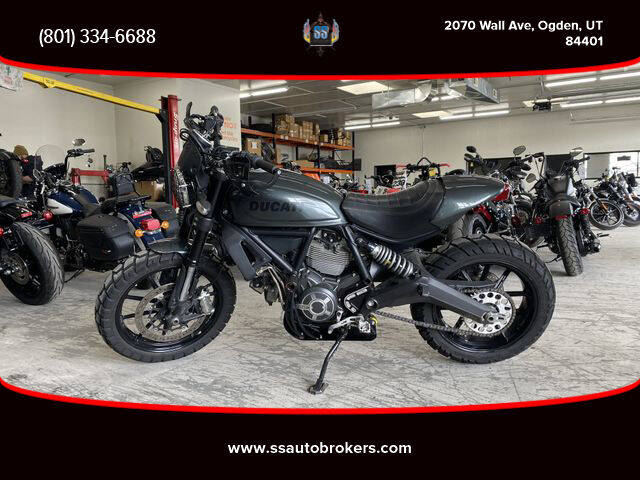 2016 Ducati Scrambler Classic for sale at S S Auto Brokers in Ogden UT