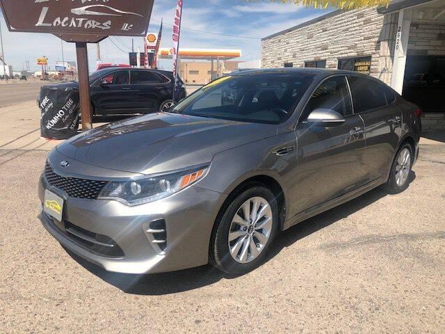 2017 Kia Optima for sale at Valley Auto Locators in Gering NE