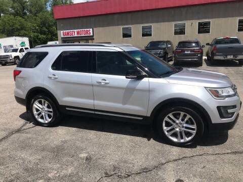 2016 Ford Explorer for sale at Ramsey Motors in Riverside MO