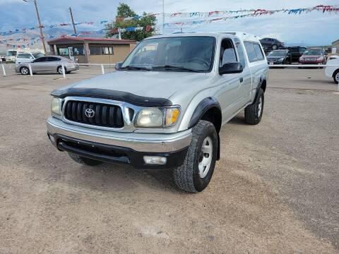 2002 Toyota Tacoma for sale at Bickham Used Cars in Alamogordo NM