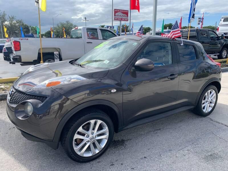 2013 Nissan JUKE for sale at Navarro Auto Motors in Hialeah FL