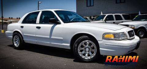 2003 Ford Crown Victoria for sale at Rahimi Automotive Group in Yuma AZ