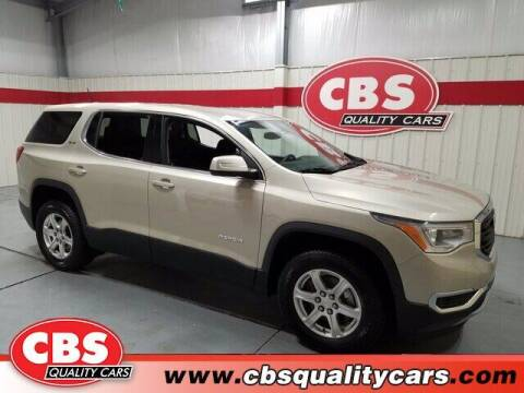 2017 GMC Acadia for sale at CBS Quality Cars in Durham NC