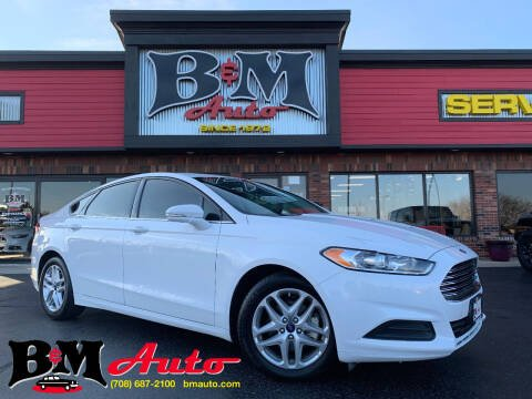 2013 Ford Fusion for sale at B & M Auto Sales Inc. in Oak Forest IL