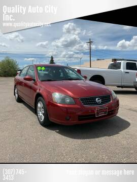 2006 Nissan Altima for sale at Quality Auto City Inc. in Laramie WY