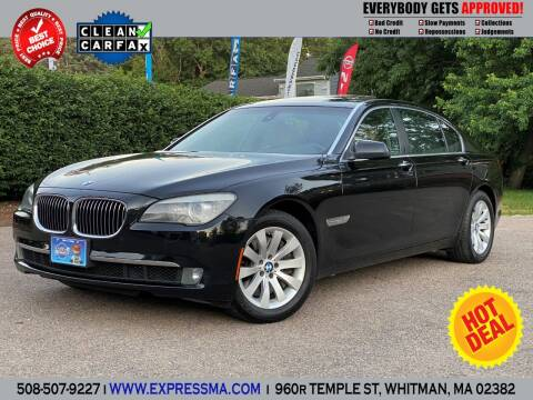 2009 BMW 7 Series for sale at Auto Sales Express in Whitman MA
