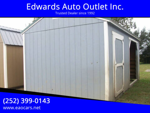 2019 xx Old Hickory Buildings 12x20 Animal Utility Shed for sale at Edwards Auto Outlet Inc. in Wilson NC
