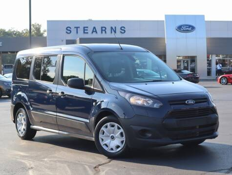 2017 Ford Transit Connect Wagon for sale at Stearns Ford in Burlington NC