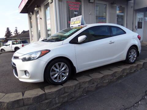 2015 Kia Forte Koup for sale at Fulmer Auto Cycle Sales - Fulmer Auto Sales in Easton PA