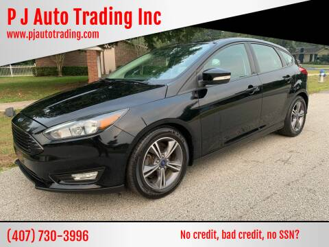 2016 Ford Focus for sale at P J Auto Trading Inc in Orlando FL