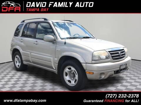 2004 Suzuki Grand Vitara for sale at David Family Auto in New Port Richey FL