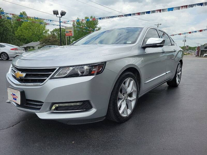 2015 Chevrolet Impala for sale at County Seat Motors in Union MO