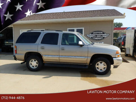 2003 GMC Yukon for sale at Lawton Motor Company in Lawton IA
