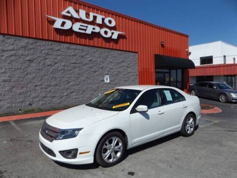 2012 Ford Fusion for sale at Auto Depot - Madison in Madison TN