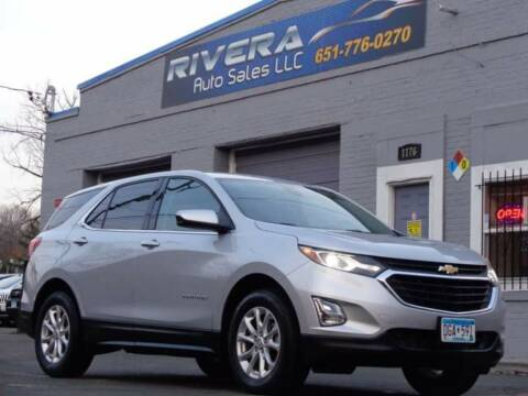 2020 Chevrolet Equinox for sale at Rivera Auto Sales LLC in Saint Paul MN
