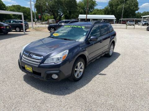 2013 Subaru Outback for sale at Bostick's Auto & Truck Sales in Brownwood TX