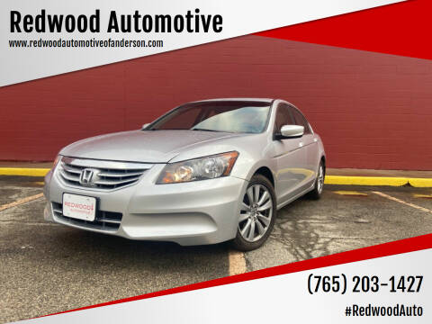 2012 Honda Accord for sale at Redwood Automotive in Anderson IN