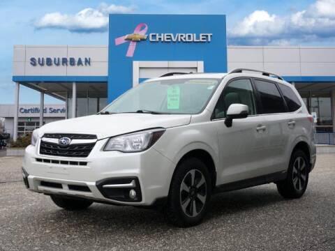 2017 Subaru Forester for sale at Suburban Chevrolet of Ann Arbor in Ann Arbor MI