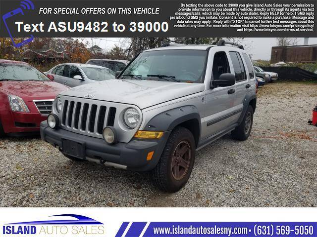 2005 Jeep Liberty for sale at Island Auto Sales in E.Patchogue NY