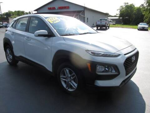 2019 Hyundai Kona for sale at Thompson Motors LLC in Attica NY