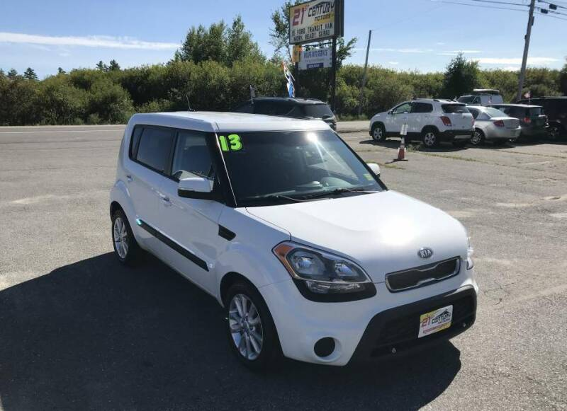 2013 Kia Soul for sale at 21ST CENTURY MOTORS in Gorham ME