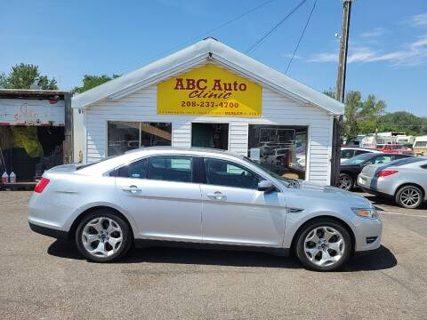 2012 Ford Taurus for sale at ABC AUTO CLINIC in Chubbuck ID