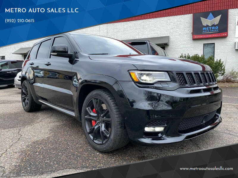 2017 Jeep Grand Cherokee for sale at METRO AUTO SALES LLC in Blaine MN