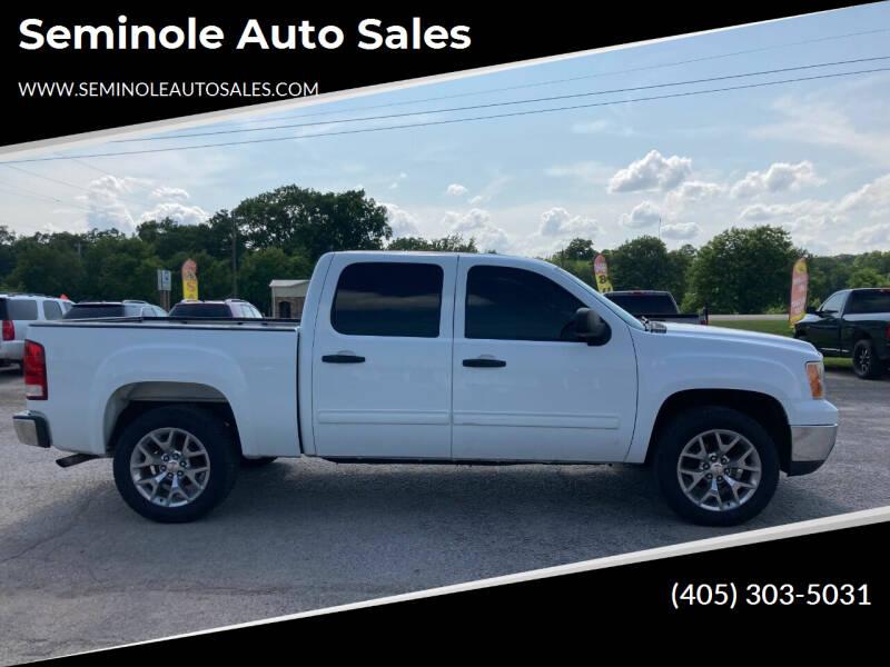 2012 GMC Sierra 1500 for sale at Seminole Auto Sales in Seminole OK